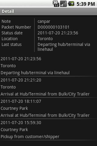 Packetracer- screenshot