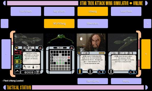 Star Trek Attack Wing Sim