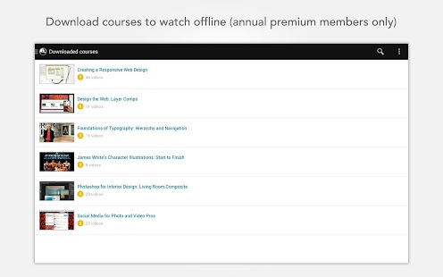 Lynda - Online Training Videos Screenshot 19