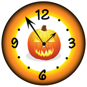 Super Halloween Clock