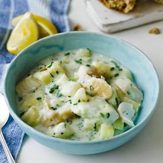 Creamy Cod Chowder Stew