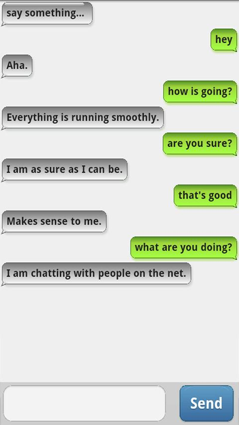ChattyBot - Free Chatterbot - screenshot