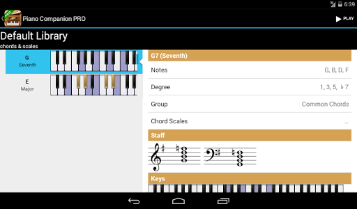 Piano Companion PRO: chords v4.2.1230
