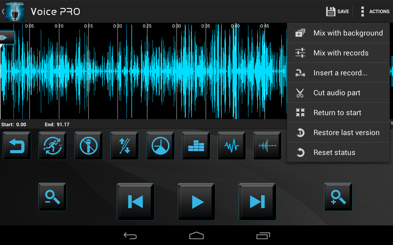 Voice PRO - screenshot