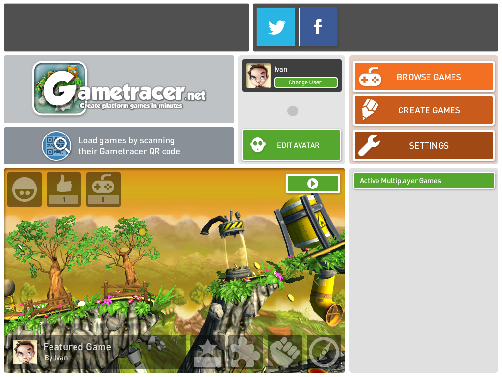 Gametracer- screenshot