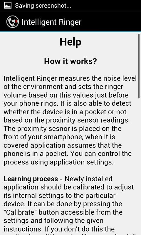 Intelligent Ringer - screenshot
