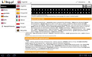 Screenshot of Ling.pl Mobile