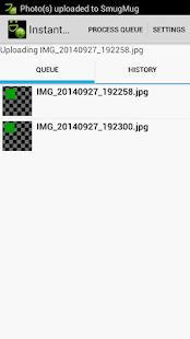 Instant SmugMug Upload - screenshot thumbnail