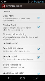 No Signal Alert Pro- screenshot thumbnail