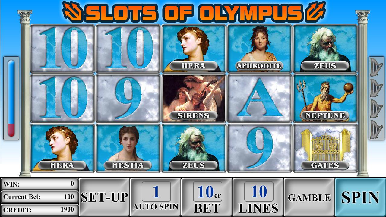 Olympus slot machine
