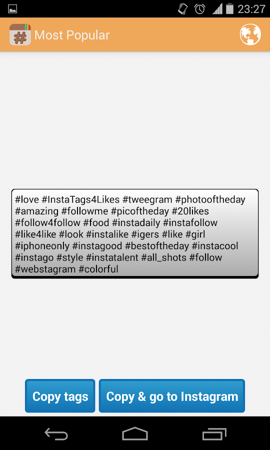 p0lann app how to use hashtags