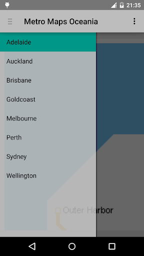 Metro Maps Oceania