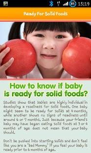 100+ Baby Food Recipe Lite screenshot