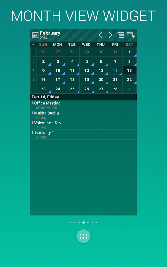 WiZZ Widget: screenshot