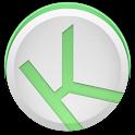 Kuroi Green - EvolveSMS Theme icon