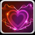 Neon Hearts Live Wallpaper icon