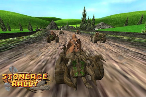 StoneAge Rally 3d kids game