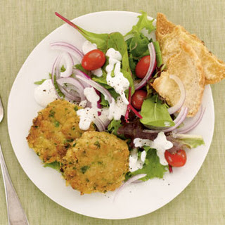 Mediterranean Chickpea Patties