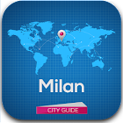 Milan Guide Hotels Weather icon