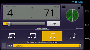 Screenshot of Creative Rhythm Metronome Free