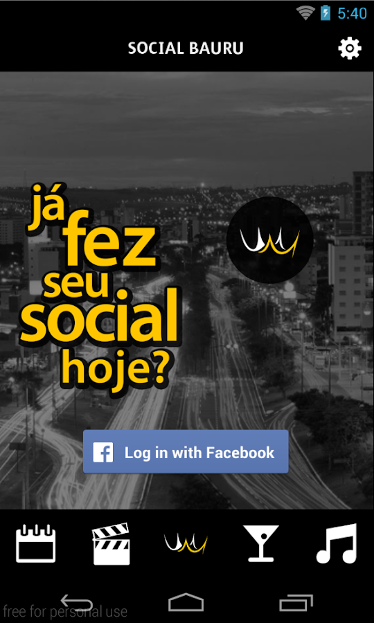 Social Bauru- screenshot