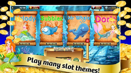 Ocean Life Slots - Play Online Video Slot Games for Free