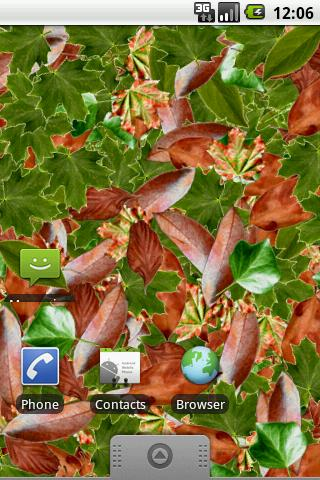 Leaves LWP - screenshot