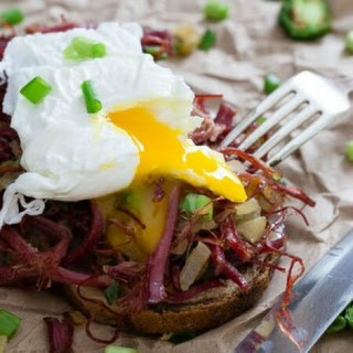 Corned Beef Hash Breakfast Sandwich
