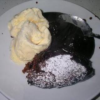 Self Saucing Chocolate Pudding.