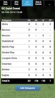 Screenshot of mScorecard - Golf Scorecard