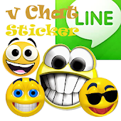v Chat Sticker LINE