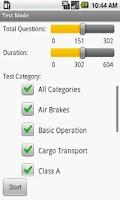 Screenshot of CDL Driver's Licence Exam Prep