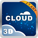 Cloud 3D Theme GO Launcher EX icon