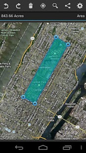 Geo Measure GPS Area Distance- screenshot thumbnail