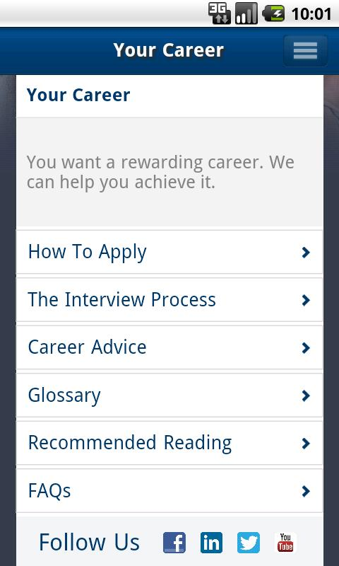 Campus Recruiting - screenshot