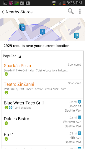 Whitepages Screenshot