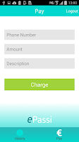 Screenshot of ePassi