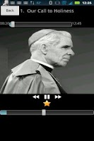 Screenshot of Fulton Sheen Audio Library