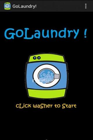 Go Laundry! - Ur Laundry Timer - screenshot