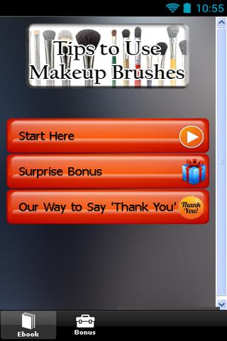 Tips to Use Makeup Brushes