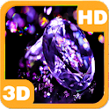 Diamonds with Violet Rich Gems icon