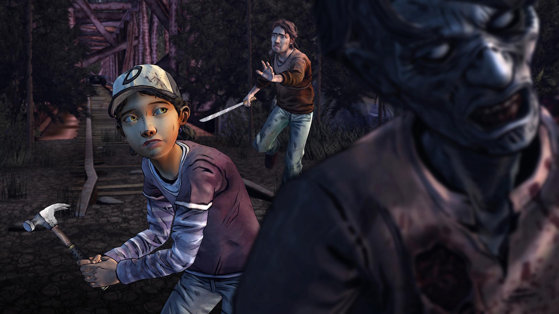 The Walking Dead: Season Two screenshot #6