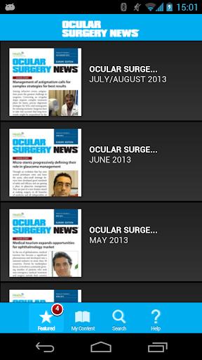 Ocular Surgery News Europe