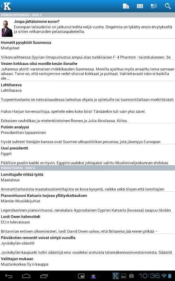 app store ei lataa Uusikaarlepyy