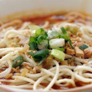 Dan Dan Noodle Soup
