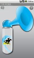 Screenshot of Crazy Air Horn