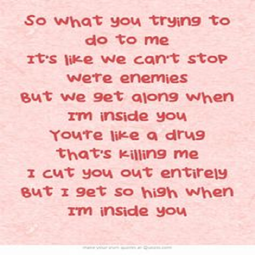 maroon5 animal -lyrics