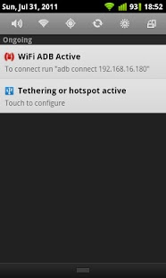 Auto USB Tethering - screenshot thumbnail