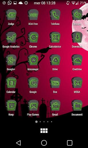 【免費個人化App】Halloween Gravestone Icon Pack-APP點子