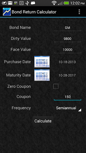 Bond Return Calculator